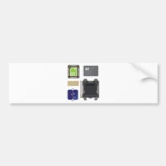 Computer Elements Bumper Sticker