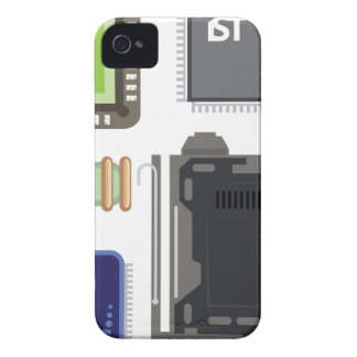 Computer Elements iPhone 4 Cover