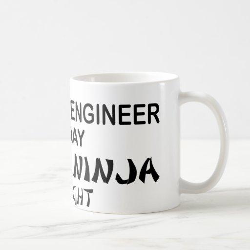 Computer Engineer Deadly Ninja Mugs