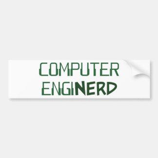 Computer Engineer Enginerd Car Bumper Sticker