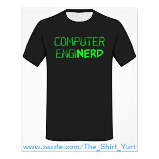Computer Engineer Enginerd Full Color Flyer