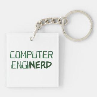 Computer Engineer Enginerd Keychain
