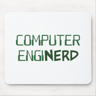 Computer Engineer Enginerd Mouse Pad
