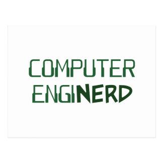 Computer Engineer Enginerd Postcard