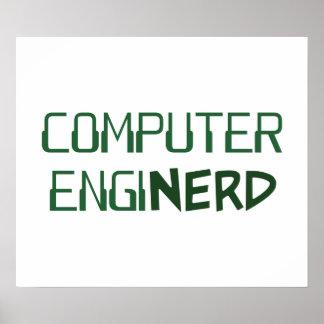 Computer Engineer Enginerd Poster