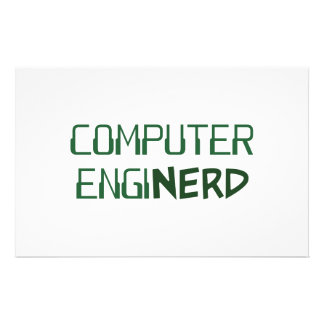 Computer Engineer Enginerd Stationery