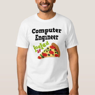 Computer Engineer (Funny) Pizza T Shirt