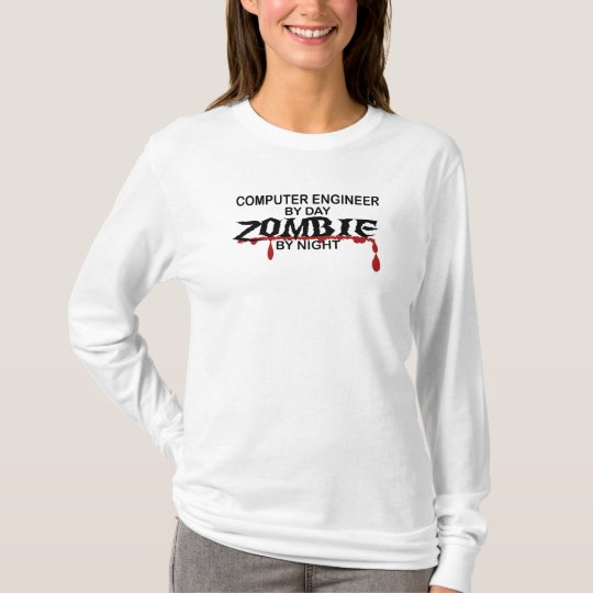 Computer Engineer Zombie T-Shirt