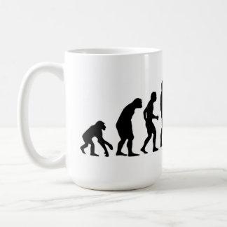 Computer Evolution Coffee Mug