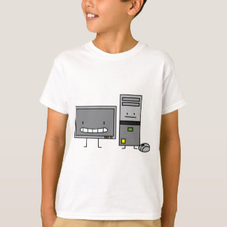 Computer Family IT Screen Mouse PC Tower T-Shirt