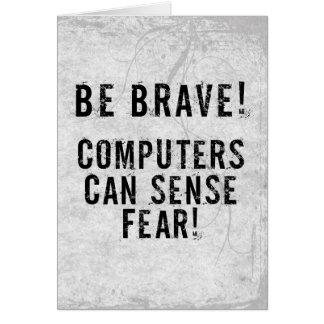 Computer Fear Card