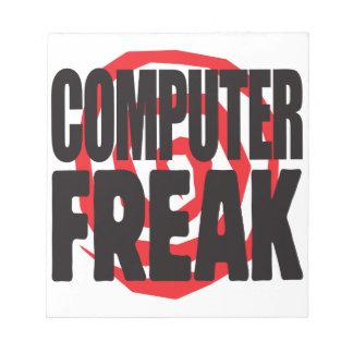 Computer Freak Memo Notepads