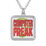 Computer Freak R Personalized Necklace
