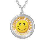 Computer Freak Smile Custom Necklace