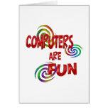 Computer Fun Cards