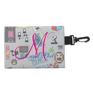 Computer Game Theme Wedding Accessories Bags