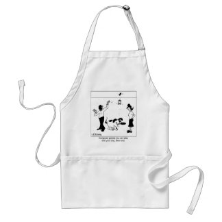 Computer Games For Your Dog Adult Apron