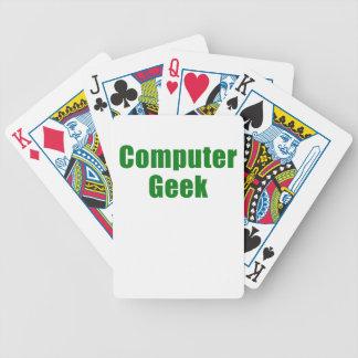 Computer Geek Bicycle Card Deck