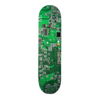 Computer Geek Circuit Board - green