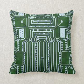 Computer Geek Circuit Board Pillows