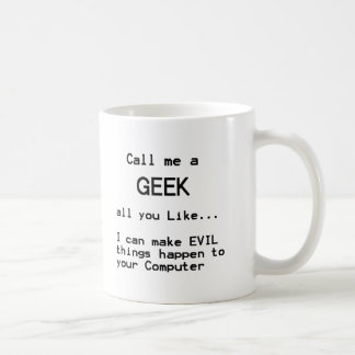 Computer Geek Classic White Coffee Mug