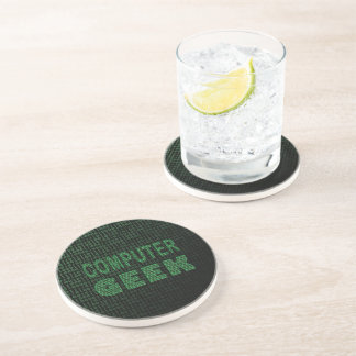 Computer Geek Beverage Coaster