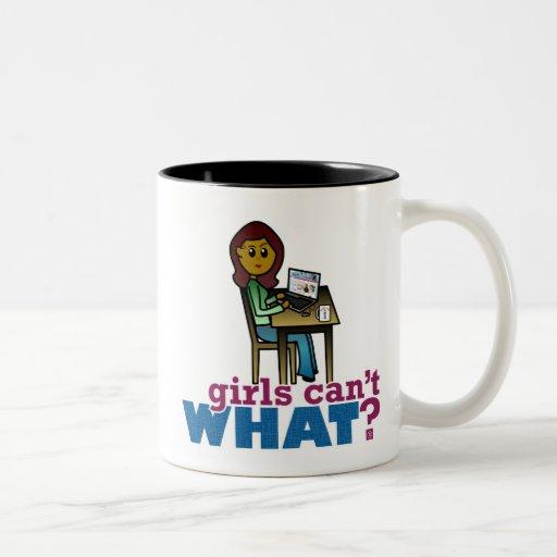 Computer Geek - Dark Two-Tone Coffee Mug