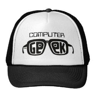 COMPUTER GEEK HAT