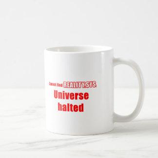 Computer geek joke coffee mugs
