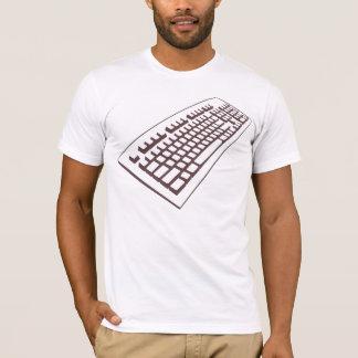 Computer geek keyboard t shirt