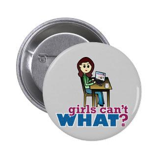 Computer Geek - Light Pinback Buttons