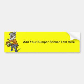 Computer Geek Mouse Bumper Sticker