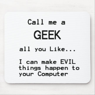Computer Geek Mouse Pad