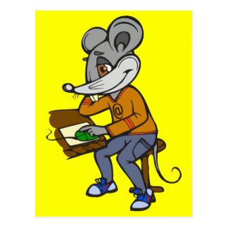 Computer Geek Mouse Postcard