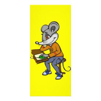 Computer Geek Mouse Customized Rack Card