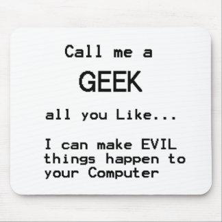 Computer Geek Mouse Mats