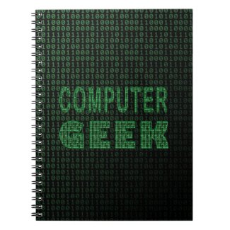 Computer Geek Note Book