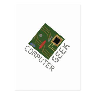 Computer Geek Postcard