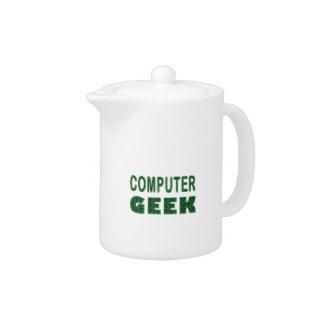 Computer Geek Teapot