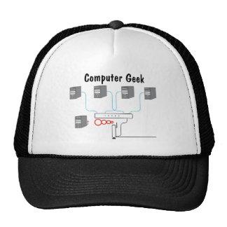 Computer Geek Trucker Hats