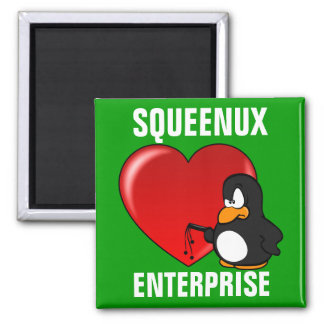 Computer Geek Valentine: Be Secure in Your Love Fridge Magnets