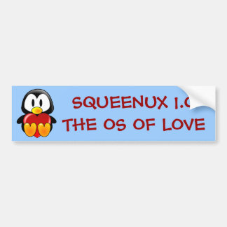 Computer Geek Valentine: Operating System for Love Bumper Sticker