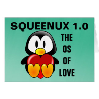 Computer Geek Valentine: Operating System for Love Card