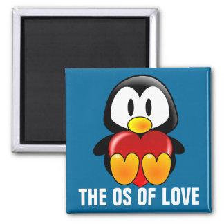 Computer Geek Valentine: Operating System for Love Refrigerator Magnet