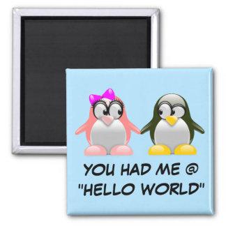 Computer Geek Valentine: Programming Language Love Fridge Magnets
