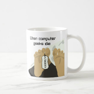 Computer Geeks Classic White Coffee Mug