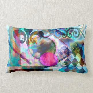 Computer generated fine art lumbar pillow