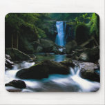Computer generated waterfall mouse pad
