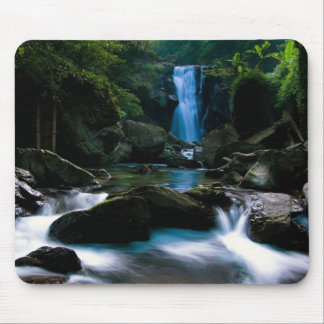 Computer generated waterfall mouse pads
