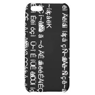 Computer Gibberish iPhone 5C Cases